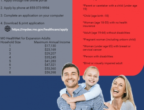 Need Healthcare Coverage?  Check out Missouri's Medicaid Expansion
