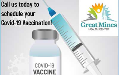 COVID VACCINATIONS – REGISTER NOW!