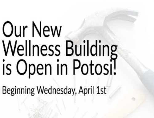 Wellness Building Now Open!
